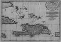 Carte de l'isle de Saint-Domingue avec partie des isles voisines, 1730.png
