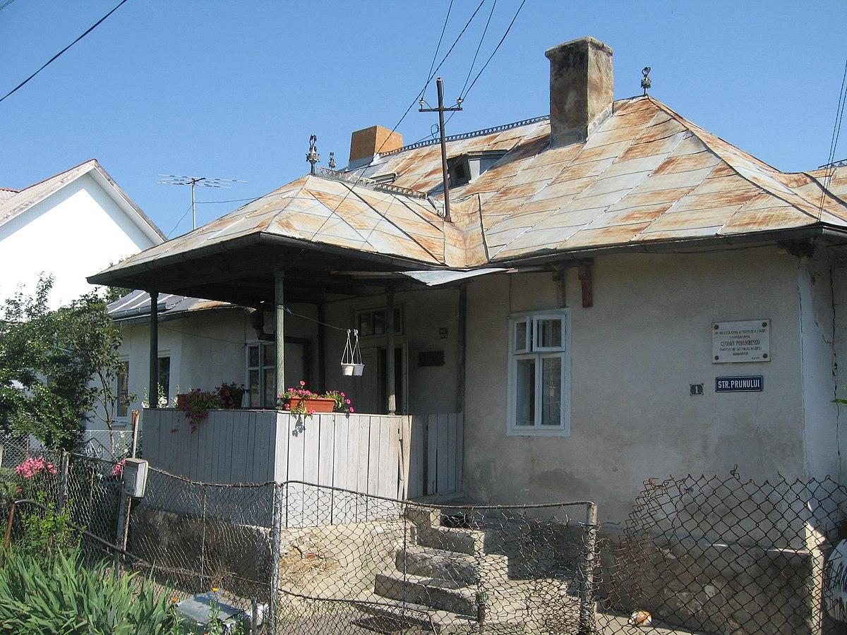 Casa ciprian porumbescu din suceava wikipedia for Modificare casa