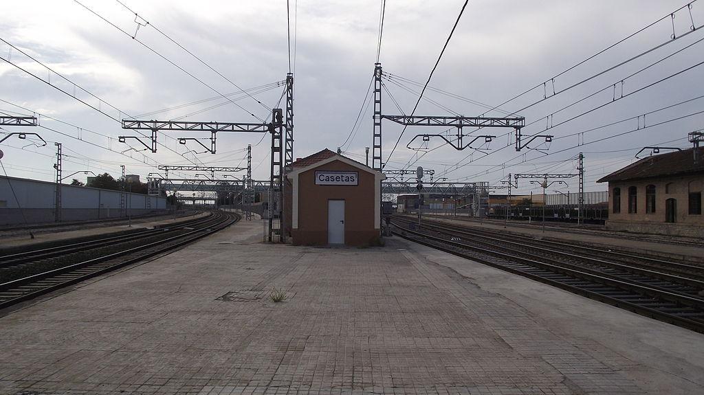 Casetas station splitsing.JPG