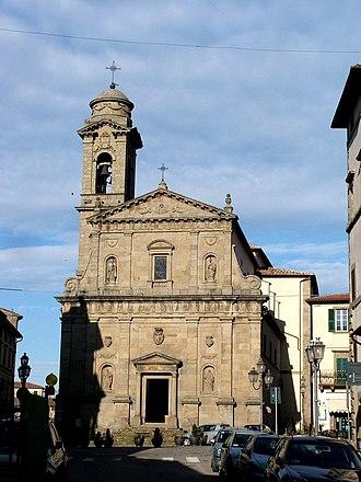 Castel del Piano - Chiesa della Propositura.