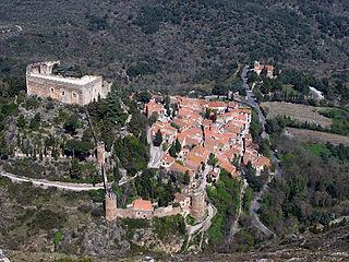 Castelnou, Pyrénées-Orientales Commune in Occitanie, France