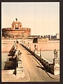 Castle and bridge of St. Angelo, Rome, Italy LOC 4754573425.jpg