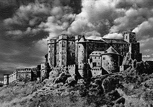 Castle of Burgos - Image: Castle of burgos old