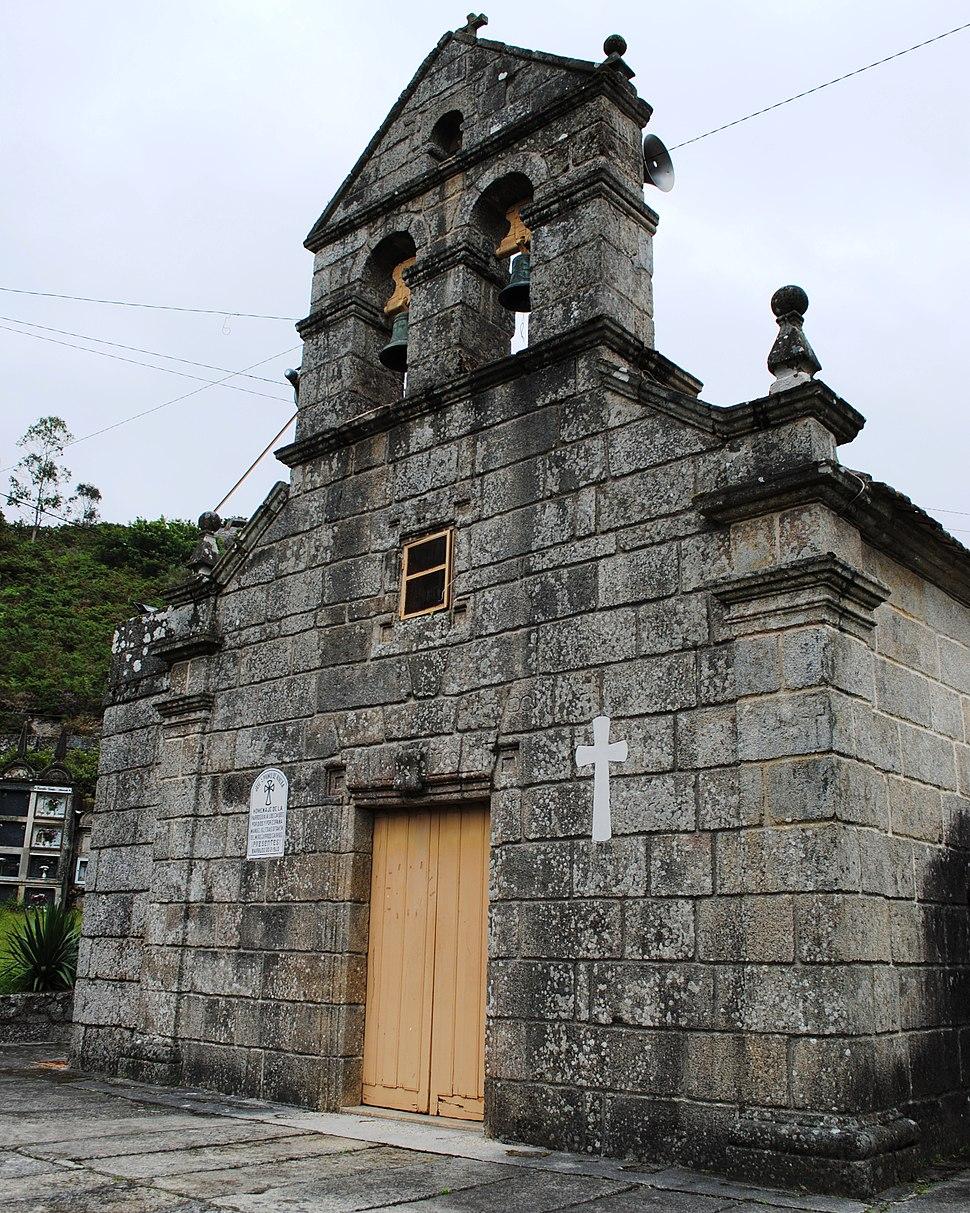 Castro Barbudo, igrexa