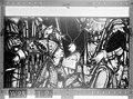 Cathédrale - Vitrail, Chapelle Saint-Joseph, lancette médiane, Légende de saint Romain, sixième panneau, en haut - Rouen - Médiathèque de l'architecture et du patrimoine - APMH00031281.jpg