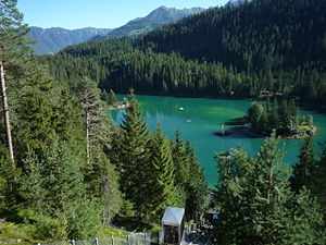 Caumasee im August 2012