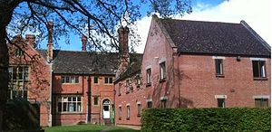 Cawston College - Elizabeth boarding house and main school building
