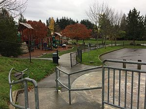 Cedar Park, Seattle - Cedar Park play area, the main public park in the neighborhood