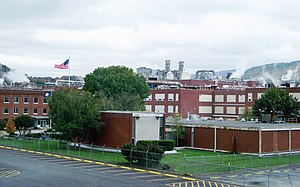 Celanese - Celanese viscose factory near Pearisburg, Virginia