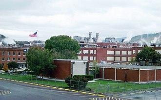 Celanese - Celanese viscose factory near Pearisburg, Virginia
