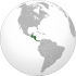 Central America (orthographic projection).svg