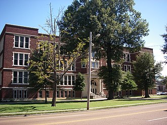 Central High School (Memphis, Tennessee) - Front of Central High