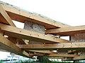 Centre Pompidou-Metz - Principe de montage de la charpente bois.JPG