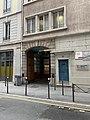 Centre scolaire Deborde, rue Ney, Lyon (entrée).jpg