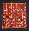 Ceremonial cloth, Kaqchikel Maya, San Juan Sacatepequez, c. 1920s-1930s, cotton and silk - Textile Museum of Canada - DSC01107.JPG