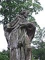 Cerkiew greko-kat., ob. prawosławna p.w. Ścięcia Głowy Św. Jana, mur., 1785. Rzeźba Ian Nepomutsenya w pobliżu świątyni..jpg