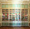 Château de Versailles, petit appartement de la reine, 1er étage, bibliothèque, élévation 1.jpg
