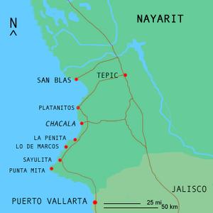 Matanchén - Image: Chacalamap