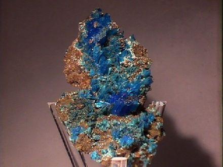 sulfate minerals wikivisually chalcanthite chalcanthite
