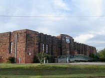 Chandler, Oklahoma USA - Route 66 Interpretive Center (National Register of Historic Places listings in Lincoln County, Oklahoma) - panoramio.jpg