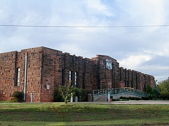 Lincoln County, Oklahoma - Image: Chandler, Oklahoma USA Route 66 Interpretive Center (National Register of Historic Places listings in Lincoln County, Oklahoma) panoramio