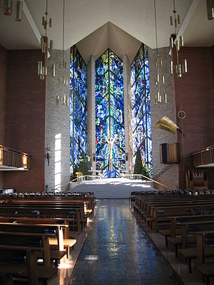 Valparaiso University - Chapel of the Resurrection.