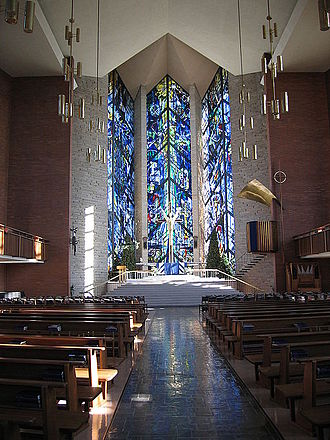 Valparaiso University - Chapel of the Resurrection.