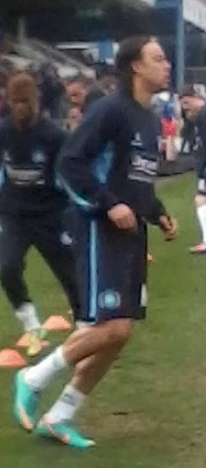 Charles Dunne - Dunne training for Wycombe Wanderers ahead of a match against Bristol Rovers.