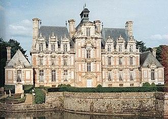 Château de Beaumesnil - Western façade of the château