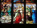 Chaumont-en-Vexin (60), église Saint-Jean-Baptiste, verrière n° 12 - dormition de la Vierge Marie.JPG