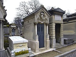 Tomb of Ernest Chausson