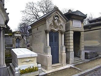 Ernest Chausson - Chausson's tomb, Père Lachaise, Paris