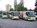 Cheb, autobusové nádraží, autobusy AKV.jpg
