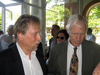 Jeff Cheeger - Jeff Cheeger (left) with H. Blaine Lawson (right) in 2007