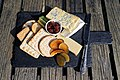 Cheeseboard platter at Black Horse Inn, Nuthurst, West Sussex, England.jpg