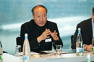 Chen Feng, Chairman, Hainan Airlines, on refinancing of the global economy, at the 2010 Horasis Annual Meeting - Flickr - Horasis.jpg