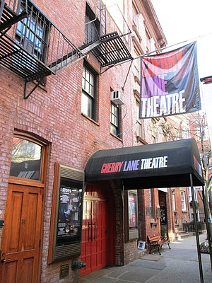 Cherry Lane Theatre - Image: Cherry Lane Theatre from east