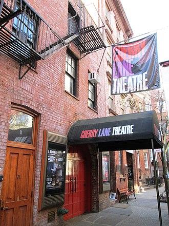 Cherry Lane Theatre - Image: Cherry Lane Theatre from east