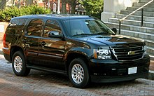 Chevrolet Tahoe Hybrid Used By Maryland Governor Martin O Malley