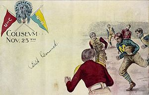 Chicago–Michigan football rivalry - 1897 souvenir program