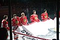 Chicago Blackhawks Stanley Cup Banner Ceremony (5103677283).jpg