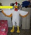 Chicken mascot by Nabil from Mascot star Meknes.jpg