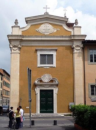 Sant'Anna School of Advanced Studies - Image: Chiesa Sant'Anna, Pisa