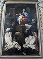 Chiesa abbaziale di s. michele a passignano, int., giuseppe nicola nasini, madonna del rosario e santi,1709.JPG