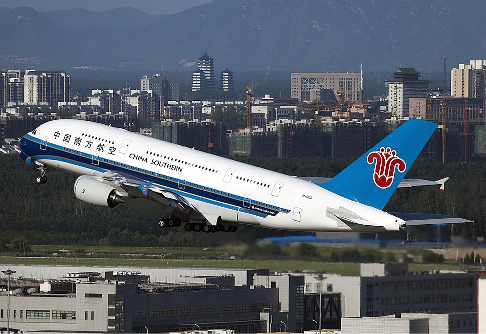 China Southern Airlines Airbus A380 Zhao-1