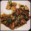 Chinese five spice shrimp and chicken, Elephant Bar (8377087565).jpg