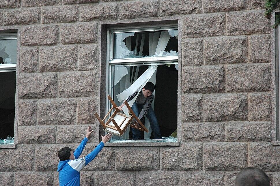 Chisinau riot 2009-04-07 03