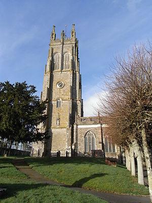 Chittlehampton - Image: Chittlehampton Church Tower