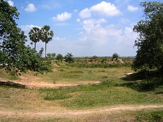Pol Pot - Mass grave in Choeung Ek