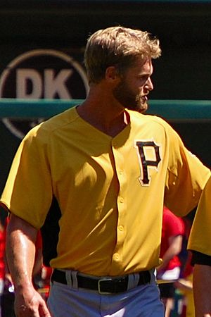 Chris Leroux - Leroux during his tenure with the Pittsburgh Pirates in 2011